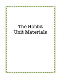 The Hobbit Unit Materials