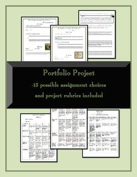 The Hobbit - Unit Plans, Assignments, and Portfolio Project