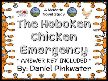 The Hoboken Chicken Emergency (Daniel Pinkwater) Novel Study  (27 pages)