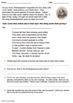 The Hokey Pokey: Shakespearean Style (PowerPoint & Worksheet)