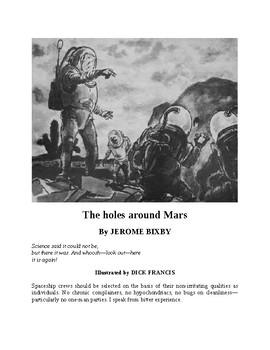 The Holes Around Mars - Sci-fi Short Story
