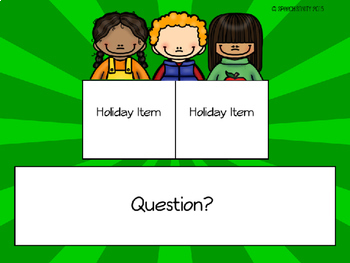 The Holiday Bunch: Language Activities for Push-In or Groups