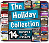 The Holiday Collection: 14 fun lessons to learn the history behind the holidays!