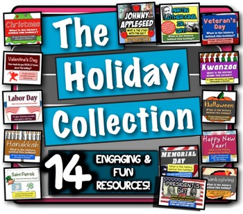 The Holiday Collection: 14 fun lessons to learn the histor
