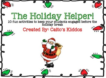 The Holiday Helper!