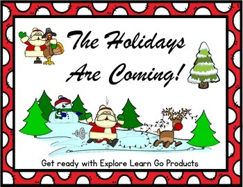 The Holidays are Coming!  Addition Fun Freebie