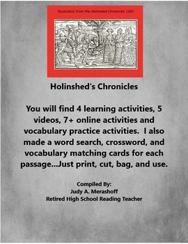 The Holinshed's Chronicles