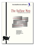 """The Hollow Men"" editable, AP Style Passage Test, Essay Prompts, Sample Essay"