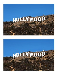 The Hollywood Sign Los Angeles Word Search