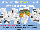 The Holocaust - 14-page full lesson (starter, notes, quest