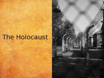 The Holocaust 1933-1945