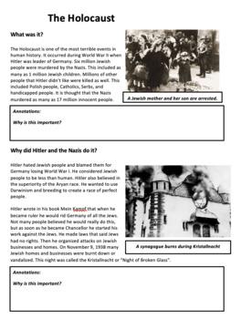 The Holocaust - An Introduction - World War 2