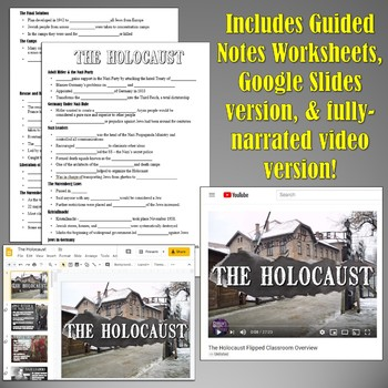 The Holocaust: Background Through Liberation PowerPoint
