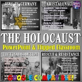 The Holocaust PowerPoint and Flipped Classroom Lesson