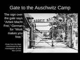 The Holocaust Concentration and Death Camps PowerPoint Pre