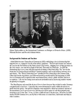 The Holocaust: Could it have been prevented? July, 1938 The Evian Conference