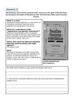 DBQ: The Holocaust, Genocide, and Human Rights (Document Based Question)