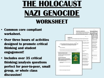 The Holocaust - Global/World History Common Core