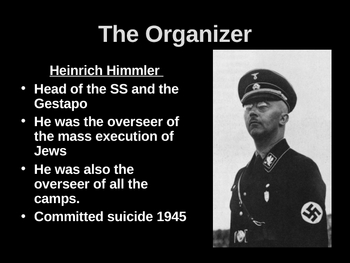The Holocaust- Hell on Earth PPT