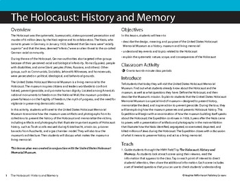 The Holocaust: History and Memory - a US Holocaust Memorial Museum VR Field Trip