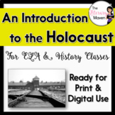 The Holocaust Introductory PowerPoint & Notes for ELA, History