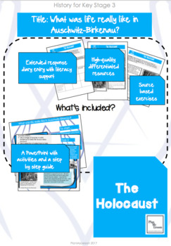 The Holocaust: Lesson 3 What was life really like in Auschwitz-Birkenau?