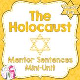 The Holocaust Mentor Sentences & Interactive Activities Mini-Unit (4-6)