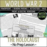 Holocaust, World War 2, World War II, WW2, WWII