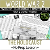 Holocaust, World War 2, World War II, WW2, WWII; Distance