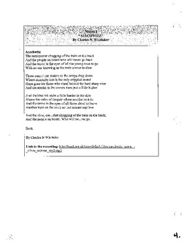 The Holocaust Packet: Poems, Non-Fiction Articles, Historical Activities