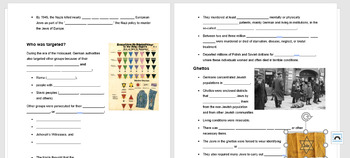 The Holocaust PowerPoint and Guided Notes