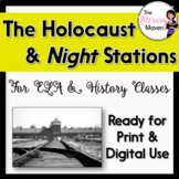 Stations for Previewing Holocaust Texts & Night by Elie Wiesel