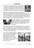 The Holocaust - Reading Comprehension with Differentiated