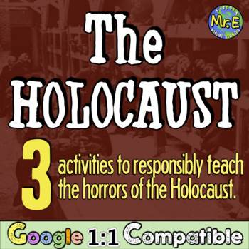 The Holocaust: Students explore 6 centers on the Holocaust & life in the camps!