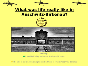 The Holocaust Unit of Work