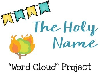 The Holy Name Word Cloud Project