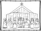 The Nativity Story:Jesus is Born! Mini Book and Coloring Pages