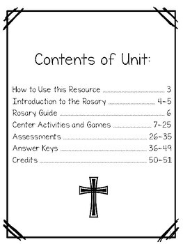 The Holy Rosary Unit