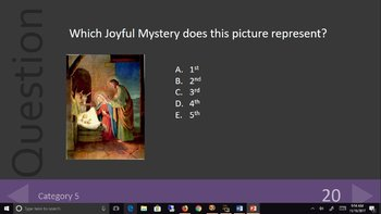 Rosary Review Game - Learn About the Holy Rosary Playing a Fun Game!
