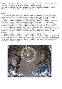 The Holy Trinity Crossword
