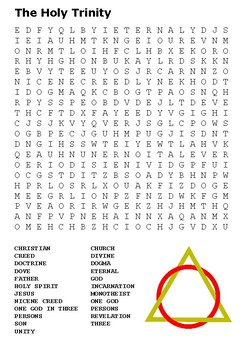 The Holy Trinity Word Search
