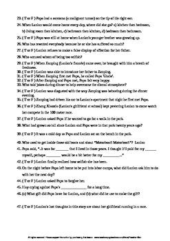 The Homecoming Stranger Guided Reading Worksheet Crossword & Wordsearch