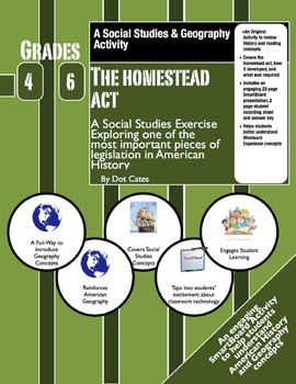 The Homestead Act: A SmartBoard & Student Sheet Activity P