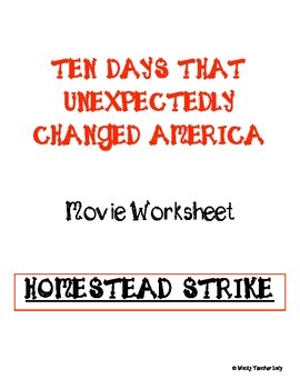 The Homestead Strike Movie Guide