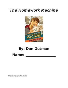 The Homework Machine Book Club - Vocabulary and Inferring