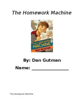 The Homework Machine Book Club - Vocabulary and Inferring
