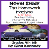 The Homework Machine + Enrichment Project Menu