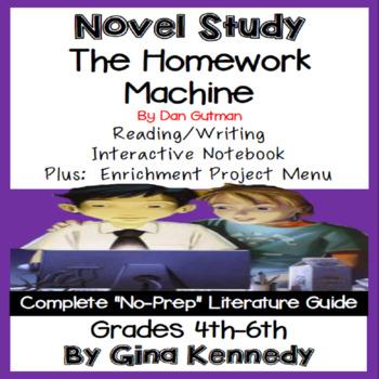 The Homework Machine + Enrichment Project Menu