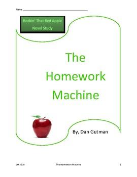 The Homework Machine Novel Study