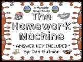 The Homework Machine (Dan Gutman) Novel Study / Comprehens